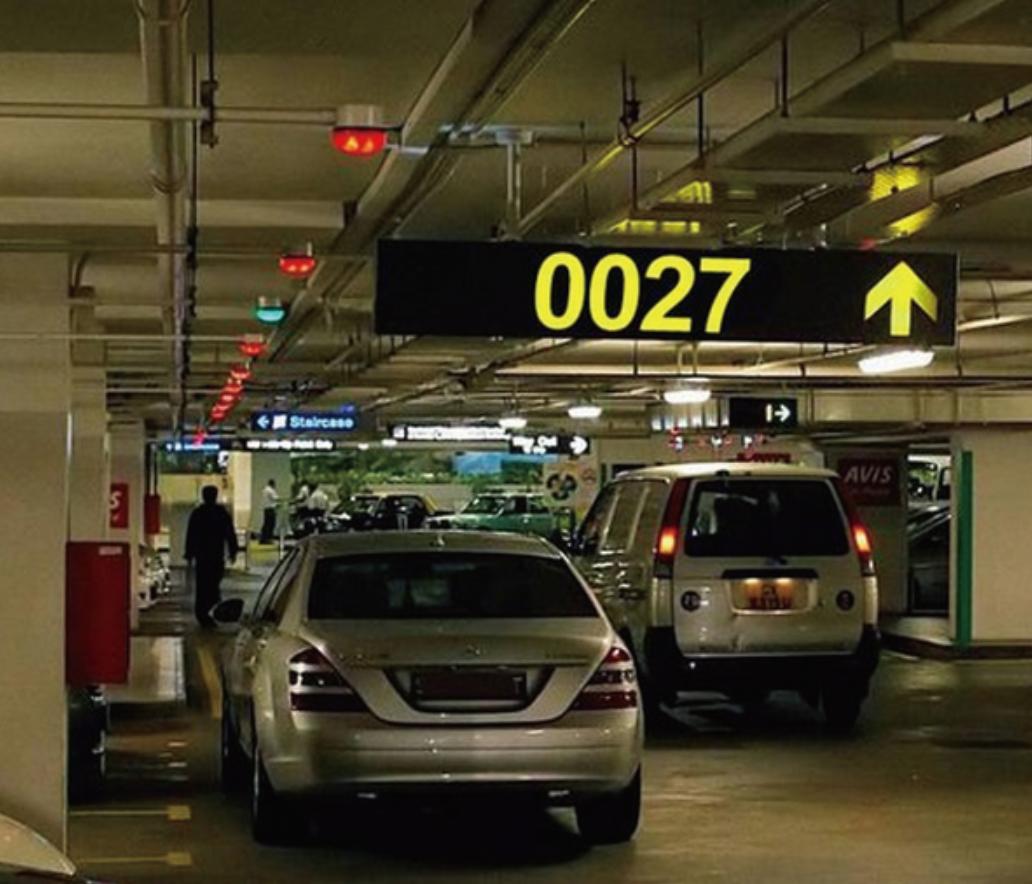 停车场车位智能引导系统